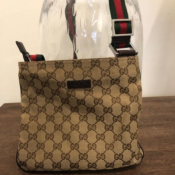 bd98fefb7 Gucci Bags | Original Gg Canvas Messenger Bag | Poshmark